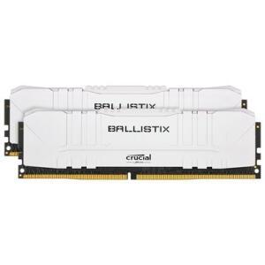 Memória Crucial Ballistix Sport LT, 16GB (2X8), 3600MHz, DDR4, CL16, Branca - BL2K8G36C16U4W