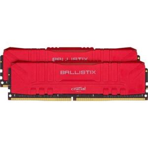 Memória Crucial Ballistix Sport LT, 16GB (2X8), 3600MHz, DDR4, CL16, Vermelha - BL2K8G36C16U4R