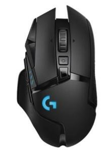 Mouse Sem Fio Gamer Logitech G502 Hero 16k Lightspeed, Recarregável, RGB Lightsync, 11 Botões, 16000DPI | R$399