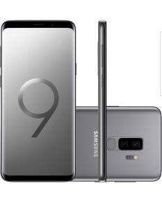 Smartphone Samsung Galaxy S9+ 128GB 4G Câmera 12MP Dual Cam - Cinza