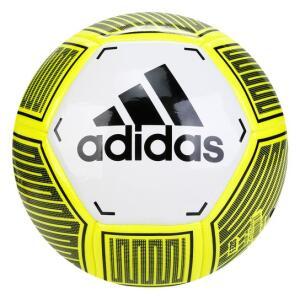 Bola de Futebol Campo Adidas Starlancer VI - Branco e Amarelo | R$40