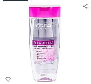 (PRIME) Água Micelar L'Oréal Paris Solução de Limpeza Facial 5 em 1, 200ml