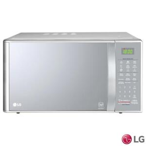 Micro-ondas LG EasyClean™ com 30 Litros de Capacidade e Grill Prata - MH7093BR R$499