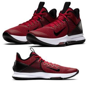 Tênis Nike Lebron Witness IV Masculino - Preto e Vermelho R$300