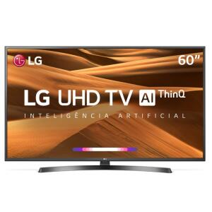 "Smart TV 4K LED 60"" LG 60UM7270 ThinQ + Smart Magic | R$2.698"