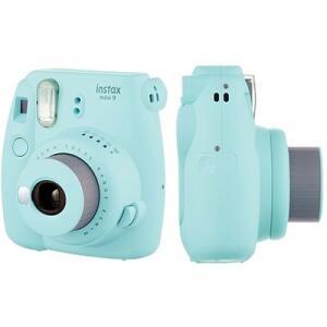 Câmera Instantânea Fuji Instax Mini 9 Azul Aqua Fuji Film CX 1 UN R$ 270