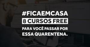 #FICAEMCASA 8 Cursos Free durante 40 dias na UPINSIDE