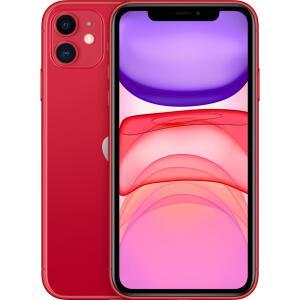 [AME] iPhone 11 256GB Vermelho iOS 4G Wi-Fi Câmera 12MP - Apple