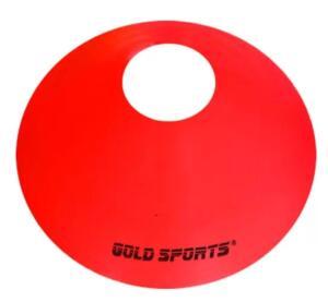 Disco Agility flexível - Gold Sports - Vermelho