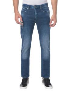 Calça Jeans Five Pocktes Slim CKJ 026 Slim - Marinho - Calvin Klein