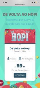 Promoção de Passaporti Hopi Hari
