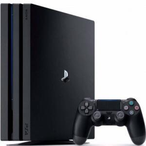 Console Sony Playstation 4 Pro 1TB + 1 Controle Dualshock 4 Nacional Preto