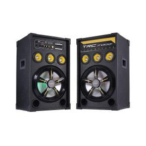 Caixa de Som Amplificada Dupla TRC 398 700W R$ 500
