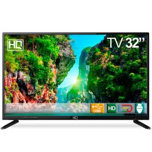 "[R$597 AME+CC Shoptime] TV LED 32"" HQ HQTV32 HD Conversor digital | R$664"