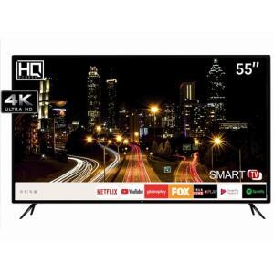 "[R$1799 AME] Smart TV LED 55"" HQ HQSTV55NY UHD 4K | R$1.999"