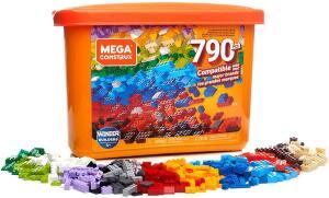 [Amazon PRIME] Caixa Core Blocos de Contar, 790 peças, Mega Construx, Mattel