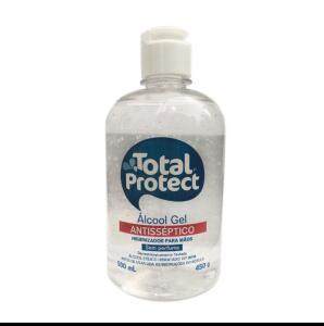 Álcool Gel 70° Total Protect 500mL Total Arte - R$22