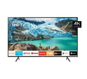 Smart TV LED 50 Polegadas Samsung UN50RU7100GXZD Ultra HD 4K