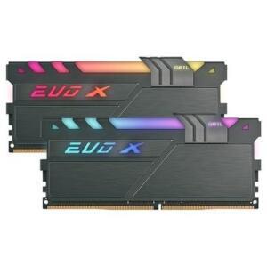 Memória Geil EVO X II, RGB, 16GB (2x8GB), 3200MHz, DDR4, CL16 R$479