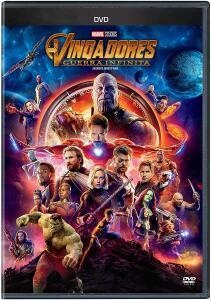 Vingadores Guerra Infinita [DVD] - R$20