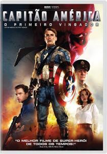 Capitão América O Primeiro Vingador [DVD] R$15