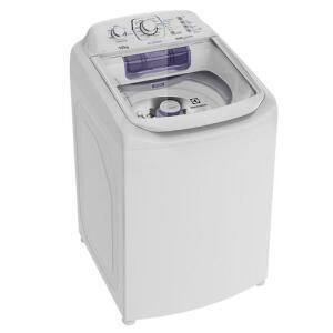 Lavadora de Roupas Electrolux Automática LAC12 e Cesto Inox 12kg | R$1213