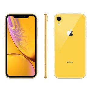 """iPhone XR Apple Amarelo 128GB, Tela Retina LCD de 6,1"""", iOS 12, Câmera Traseira 12MP, Resistente à Água e Reconhecimento Facial"""