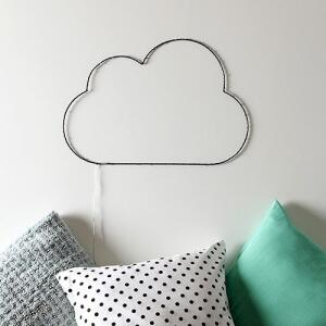 Luminária LED Decorativa Nuvem - Orb | R$56