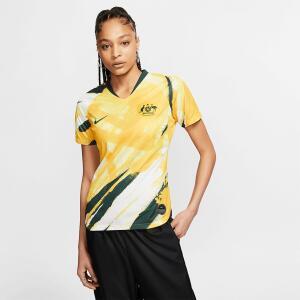 Camisa Nike Austrália I 2019/20 Torcedora Pro Feminina