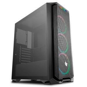 COMPUTADOR PICHAU GAMER, RYZEN 5 3500X, RADEON RX 590 8GB POWERCOLOR, 8GB DDR4, HD 1TB, 500W, GADIT X RGB