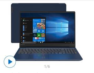 "Notebook Lenovo Ideapad 330S AMD Ryzen 7 8GB-1TB LED 15.6"" Placa de Vídeo 2GB Windows 10"