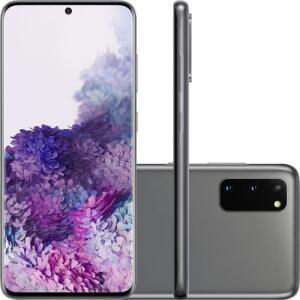 (CC SHOPTIME+AME=R$3880,51) Smartphone Samsung Galaxy S20 - Cosmic Gray