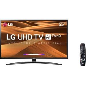 "[CC Shoptime] Smart TV LG 55"" 55UM7470 UHD 4K + Controle Smart Magic | R$2.094"