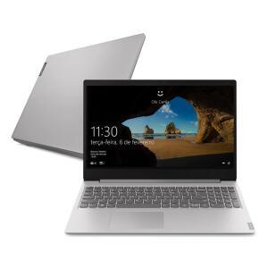"Notebook Lenovo Dual Core 4GB 500GB Tela 15.6"" Windows 10 Ideapad S145 R$1499"