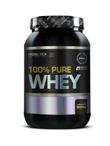 Whey Protein 100% 900g - Probiótica (Comprando 3 unidades)