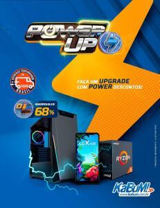 Power UP Kabum! Até 68% OFF em produtos selecionados