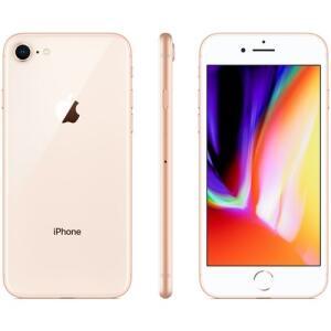 iPhone 8 128GB Gold iOS Câmera 12MP 4G Wi-Fi - Apple