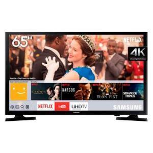 "Smart TV LED 65"" Samsung UHD 4K LH65BENELGA/ZD | R$2.849"