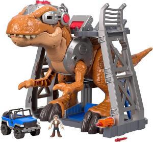 Imaginext - Imx Jw Jurassic Rex Fmx85 Fisher Price Várias R$ 500