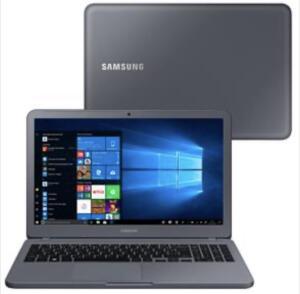 "Notebook Samsung Core i3-7020U 4GB 1TB Tela Full HD 15.6"" Windows 10 Essentials E30 NP350XAA-KF3BR"
