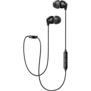 Fone de Ouvido Philips Bluetooth Shb3595bk/10 Upbeat In Ear com Microfone - Preto