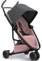Carrinho de Bebê Zapp Flex Quinny, Graphite on Blush | R$1.211