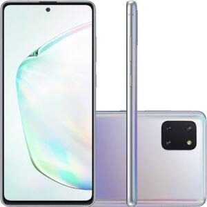 (CARTÃO SHOPTIME+AME=R$2171,21) Smartphone Samsung Note 10 Lite Android 128GB 4GB - R$2271