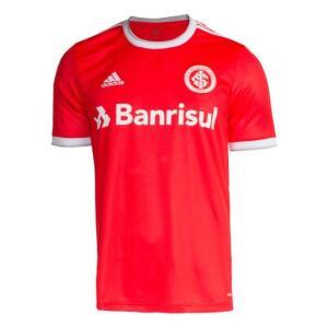 Camisa Internacional I 20/21 s/nº Torcedor Adidas Masculina - Vermelho