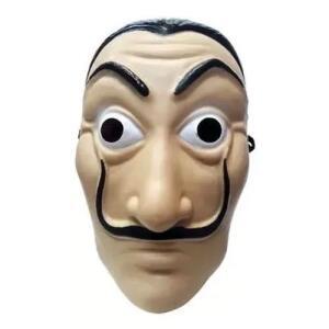 Mascara Salvador Dali La Casa De Papel Plastico Resistente