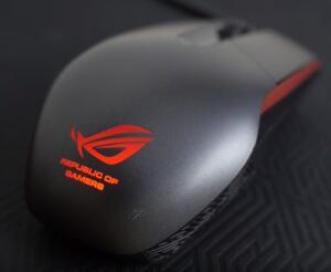Mouse Gamer Asus Rog Sica P301 5000DPI - R$99