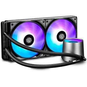 Water Cooler Gamer Storm DeepCool Castle RGB 280mm Intel-AMD DP-GS-H12L-CSL280RGB