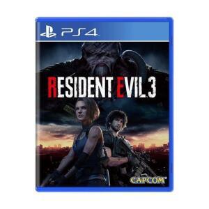 Jogo Resident Evil 3 Remake - Ps4 - R$240