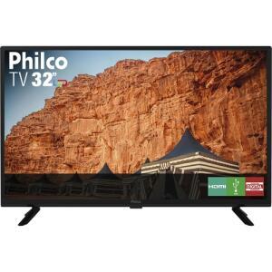 [CC Shoptime] TV LED 32 HD Philco PTV32G50D com Conversor Digital | R$626