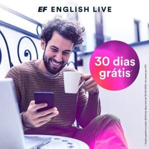 1 mês grátis English Live